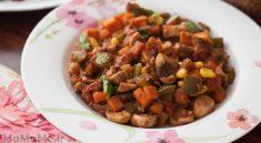خوراک-قارج-و-هویج