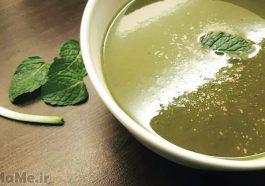 طرز تهیه سوپ نخود و نعنا