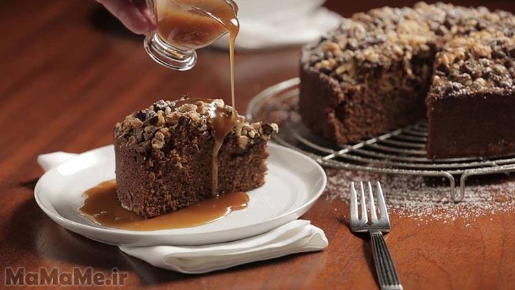 طرز تهیه کیک خرما بدون شکر