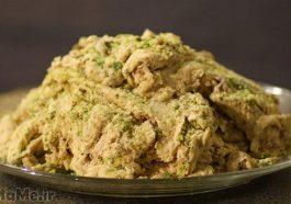 طرز تهیه حلوای گردو ارومیه با بادام