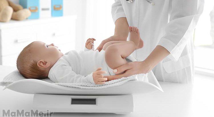 وزن-طبیعی-نوزاد-در-هنگام-تولد