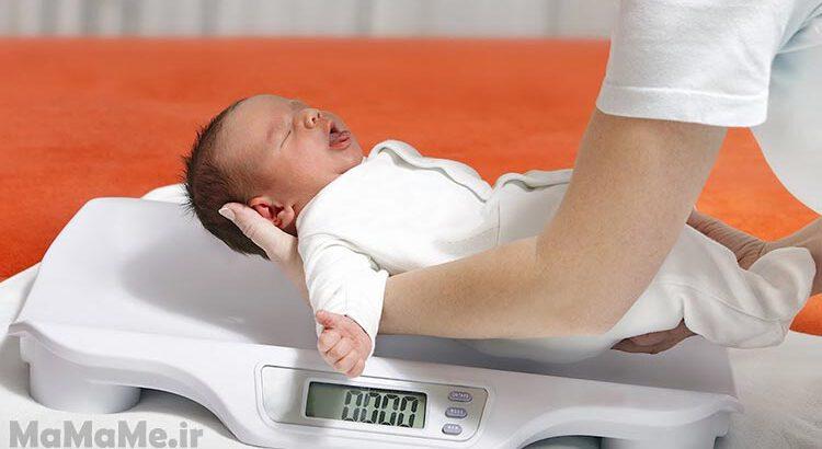 علت-وزن-گیری-نوزاد